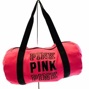 Victoria's Secret PINK Duffel Bag Large, Hot Pink